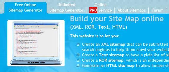 xml sitemap generator