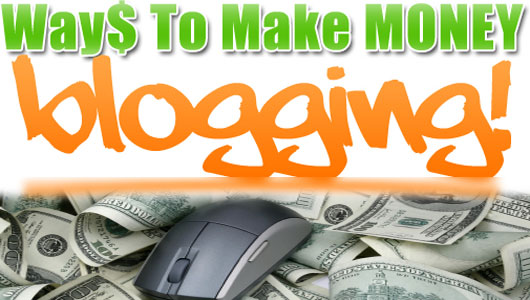 internet blogging make money from blog