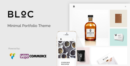bloc wordpress theme