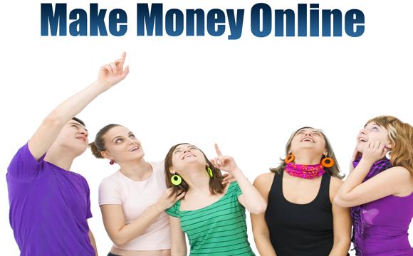 makes money online